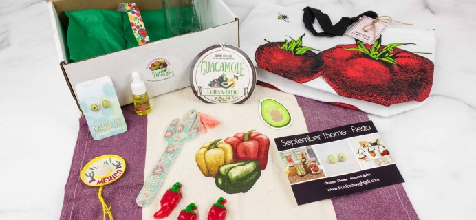 Fruit For Thought September 2018 Subscription Box Review & Coupon