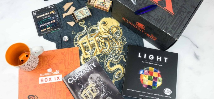 The Curiosity Box by VSauce Subscription Box Review – Summer 2018