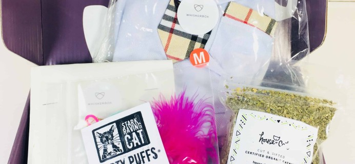 Whiskerbox September 2018 Subscription Box Review + Coupon