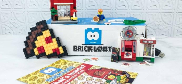 Brick Loot September 2018 Subscription Box Review & Coupon