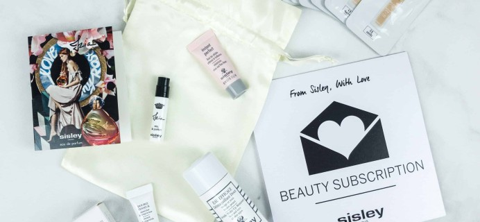 Sisley Paris Beauty Subscription September 2018 Box Review