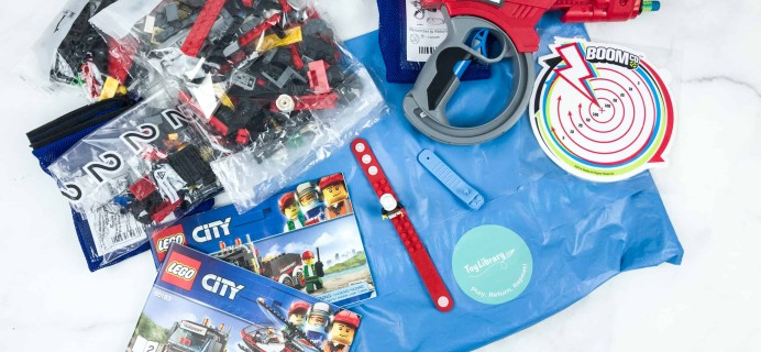 ToyLibrary By Pley Subscription Box Review