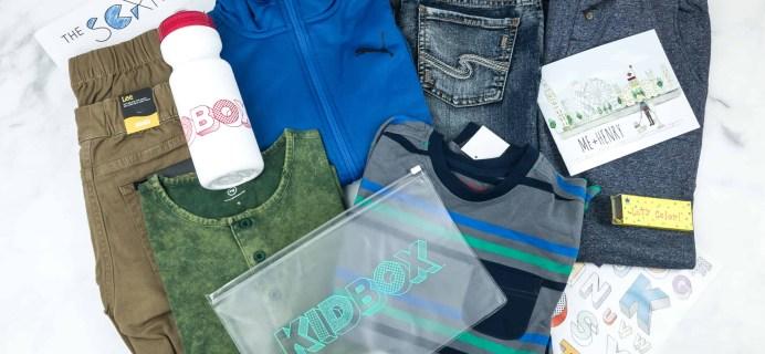 Kidbox Boys Fall 2018 Subscription Box Review + Coupon – Big Boys