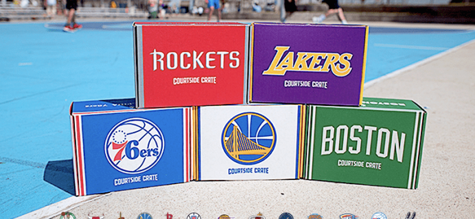 Sports Crate NBA Courtside Crate Coupon: Save 30%!
