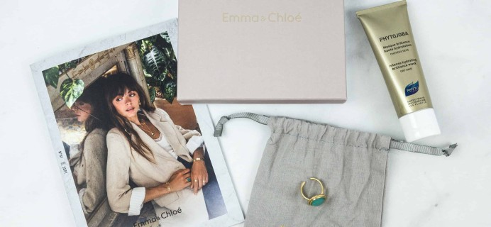 Emma & Chloe Subscription Box Review + Coupon – September 2018