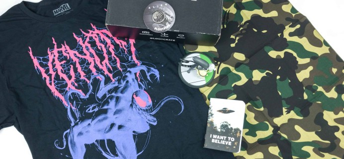 Loot Crate September 2018 Review + Coupons – INVADERS