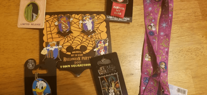 Magical Surprise Jumbo Pin Box September 2018 Full Reveal + Coupon!