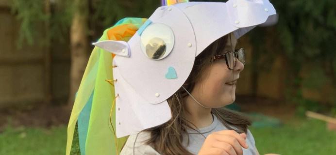 KiwiCo Halloween Crate 2018 Review & Coupon – GLOWING HORN UNICORN