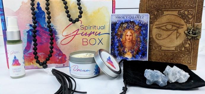 Spiritual Guru Subscription Box Review – September 2018