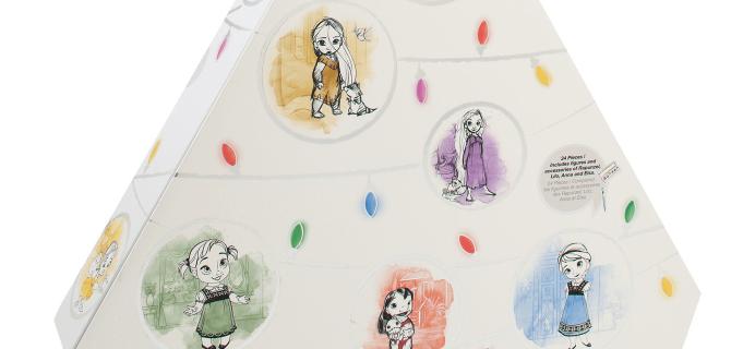 2018 Disney Animators Littles Advent Calendar Available Now + Full Spoilers!