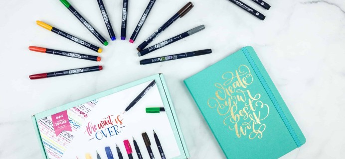 Tombow VIP Club Fall September 2018 Box Review