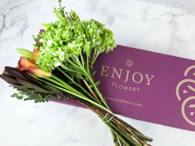 Enjoy Flowers October 2018 Subscription Box Review + 50% Off Coupon!
