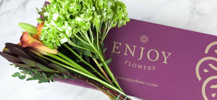 Enjoy Flowers Farm Fresh Collection Review + Coupon!