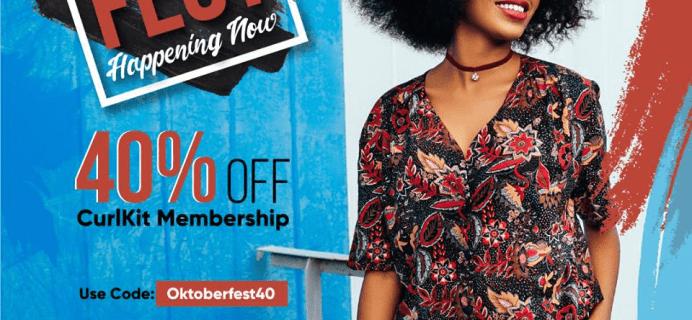 CurlKit Oktoberfest Sale: Get 40% Off Your Subscription + October 2018 Spoilers!