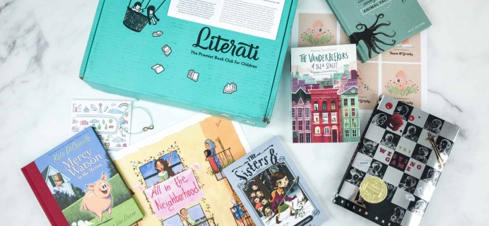 Literati Kids Club Sage Box Review + Coupon – September 2018