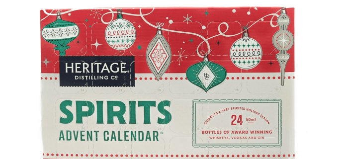 2018 Heritage Distilling Co. Advent Calendar Available Now!
