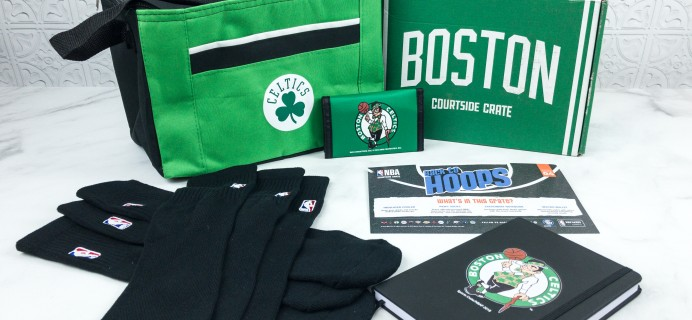 Courtside Crate by Sports Crate: NBA Edition September 2018 Subscription Box Review + Coupon