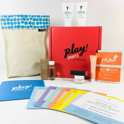 PLAY! by Sephora PLAY! SMARTS – Superfoods: Inner & Outer Beauty Box October 2018 Review