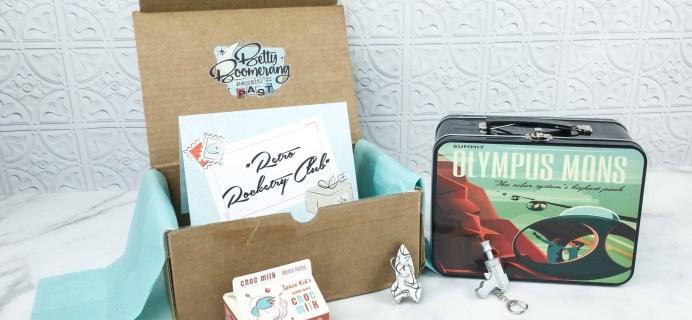 Betty Boomerang September 2018 Subscription Box Review + Coupon