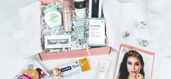 Bless Box September 2018 Subscription Box Review & Coupon