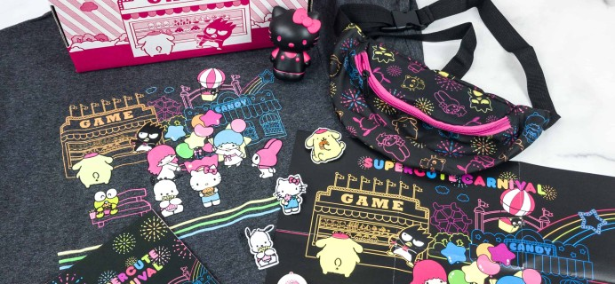 Sanrio Small Gift Crate Fall 2018 Subscription Box Review + Coupon!