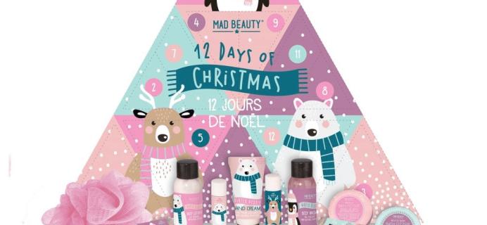 2018 Mad Beauty Advent Calendar Available Now!