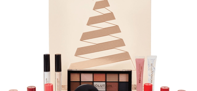 Makeup Revolution Advent Calendar 2018 Available Now + Full Spoilers!
