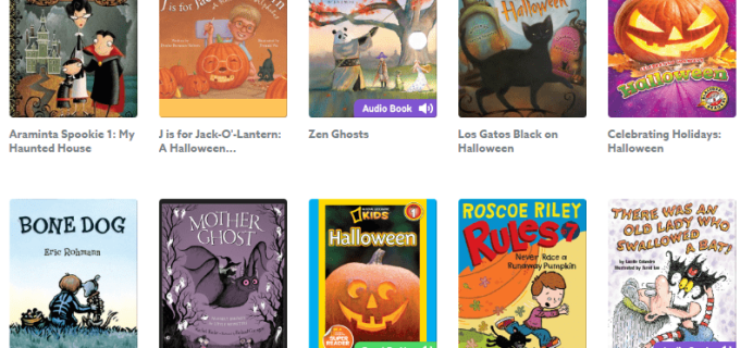 Epic! Kids Books – Halloween Books Collection + Free Month Coupon!