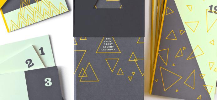 2018 Short Story Advent Calendar Available Now
