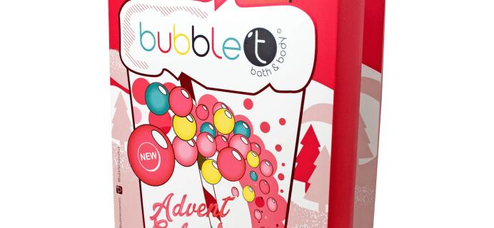 2018 Bubble T Advent Calendar Available Now!