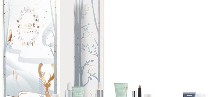 2018 Lumene Beauty Advent Calendar Available Now + Full Spoilers!
