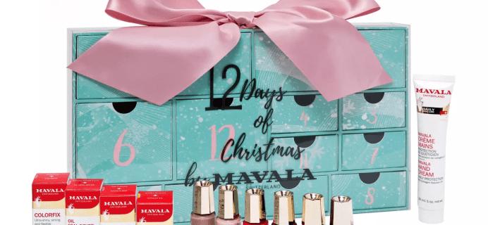 2018 Mavala Advent Calendar Available Now + Full Spoilers!