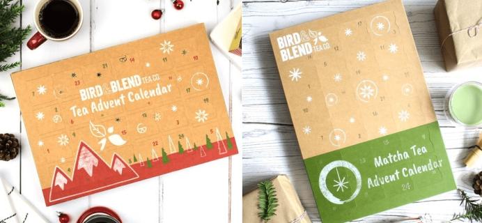 2018 Bird & Blend Tea Advent Calendars Available For Pre-Order Now + Full Spoilers!