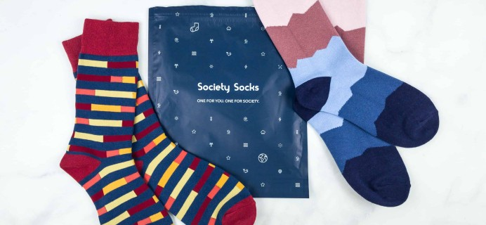 Society Socks October 2018 Subscription Box Review + 50% Off Coupon