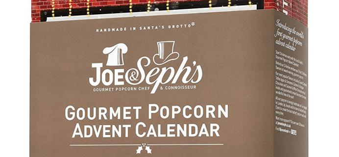2018 Joe & Seph's Gourmet Popcorn Advent Calendar Available Now + Full Spoilers!