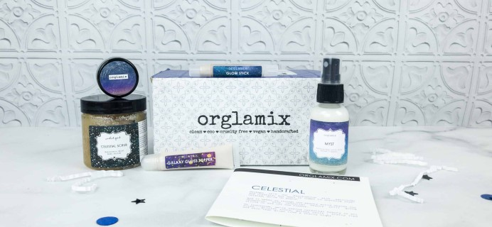 Orglamix September 2018 Subscription Box Review & Coupon