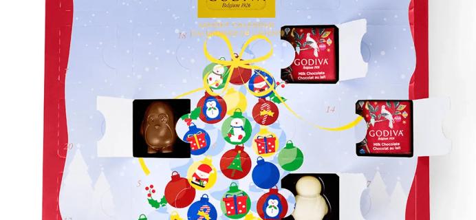 2018 Godiva Chocolate Advent Calendar Available Now!
