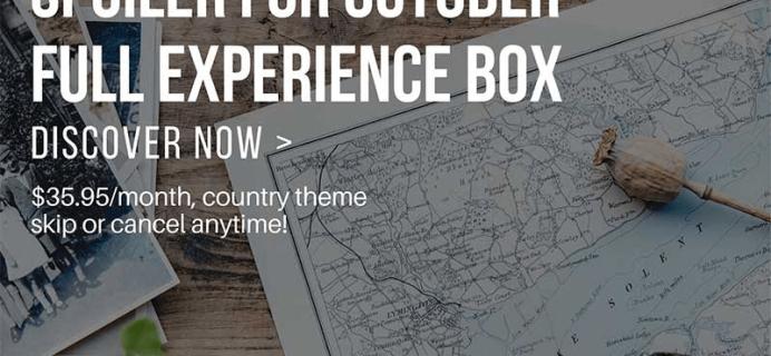 Yummy Bazaar October 2018 Full Experience Box Spoilers