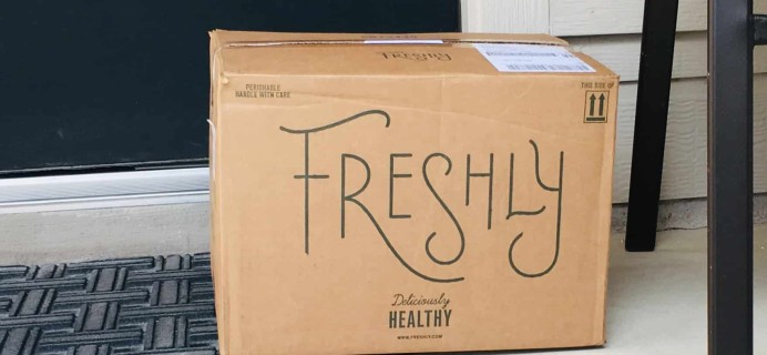 Freshly October 2018 Subscription Box Review & Coupon
