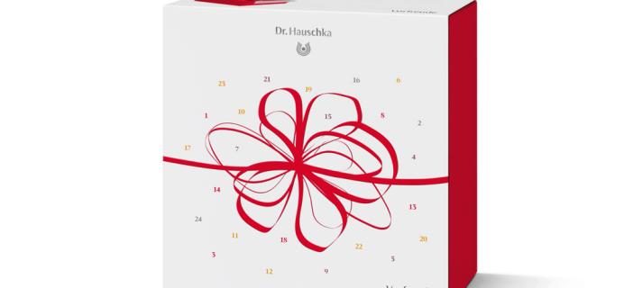 2018 Dr. Hauschka Skin Care Advent Calendar Available Now!