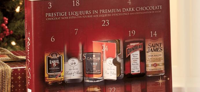 2018 Abtey Royal Des Lys Liqueur Chocolate Advent Calendar Available Now!