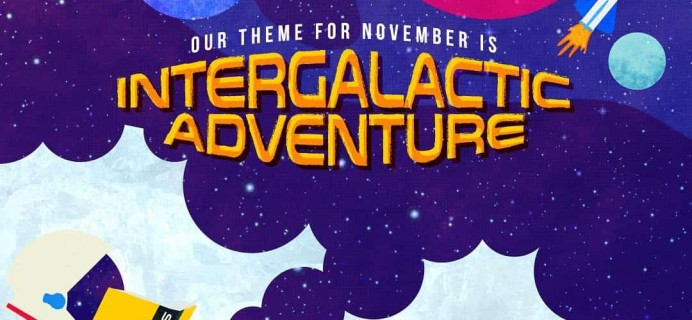 OwlCrate Jr. November 2018 Box Available Now + Coupon!