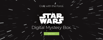 Cricut May 2020 STAR WARS Digital Mystery Box Available Now!