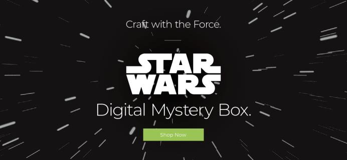 Cricut May 2020 STAR WARS Digital Mystery Box Available Now!