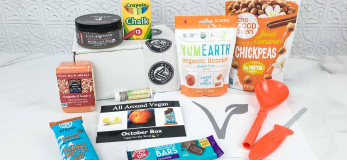 All Around Vegan Box October 2018 Subscription Box Review + Coupon