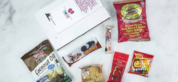 Something Snacks October 2018 Subscription Box Review