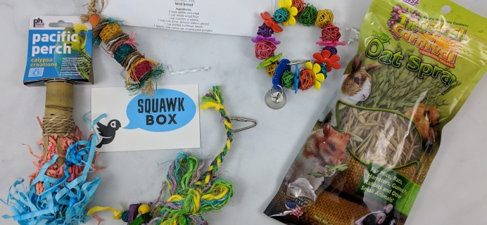Squawk Box Subscription Review – September 2018