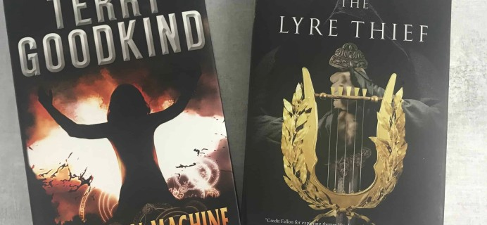 BookCase Club September 2018 Subscription Box Review + 50% Off Coupon – Sci-Fi & Fantasy!