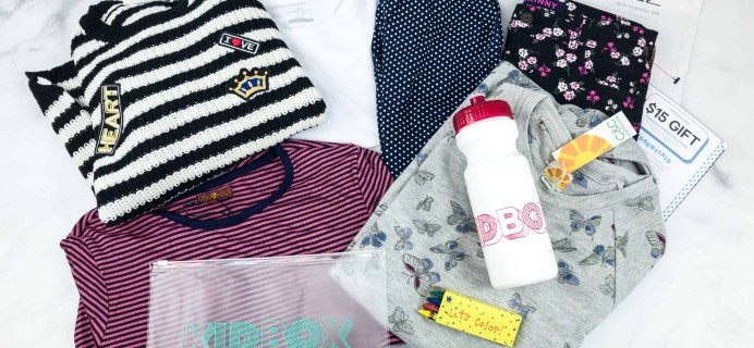 Kidbox Girls Fall 2018 Subscription Box Review & Coupon