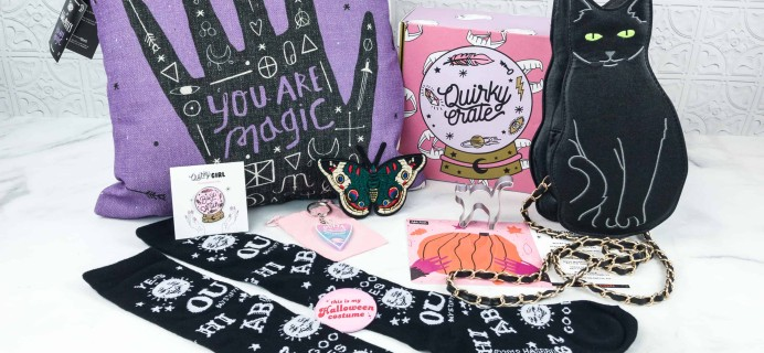 Quirky Crate October 2018 Subscription Box Review + Coupon